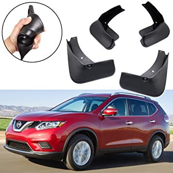 A-Premium Splash Guards Mud Flaps Mudflaps for Nissan Rogue X-Trail 2014-2017