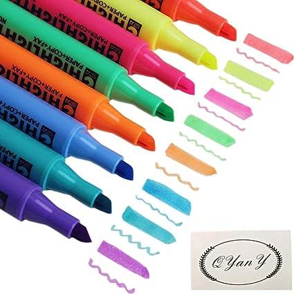 Amazon.com : Multi-Color Highlighter Pen Marker Paint Pens set ...