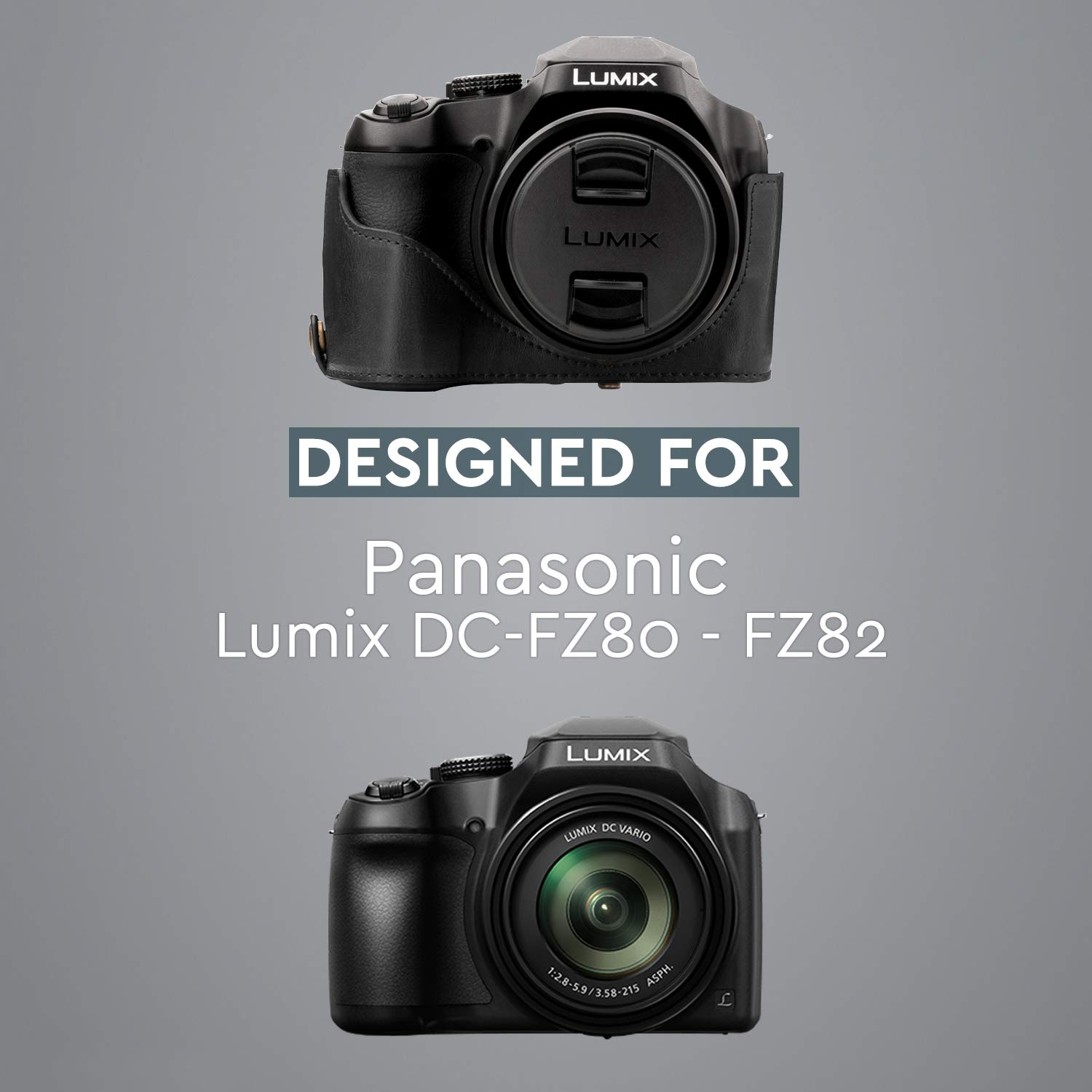 G95 DCFZ80 DXTS7GK GX9 Case for Panasonic LUMIX TZ95 DCZA70 GH5S