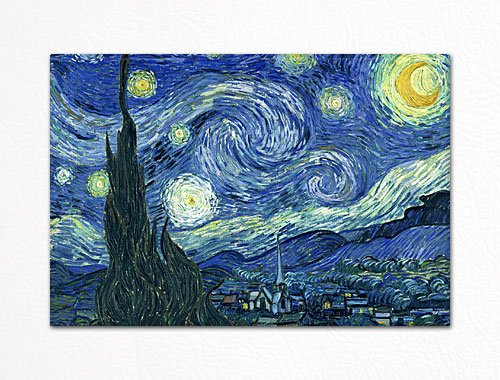 van gogh fridge magnet - 3