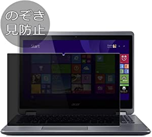 """Synvy Privacy Screen Protector Film for Acer Aspire R3-471T / R3-471TG 14"""" Anti Spy Protective Protectors [Not Tempered Glass]"""
