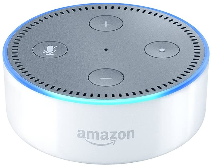 Echo Dot (2nd Gen) - Smart speaker - White