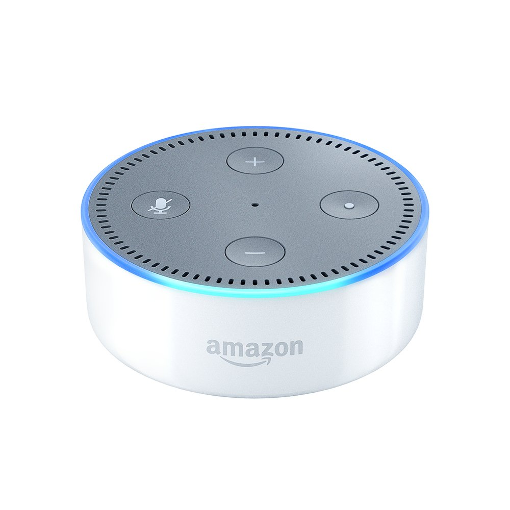 Echo Dot (2nd Generation) - Smart speaker with Alexa - White by Amazon (Image #1)
