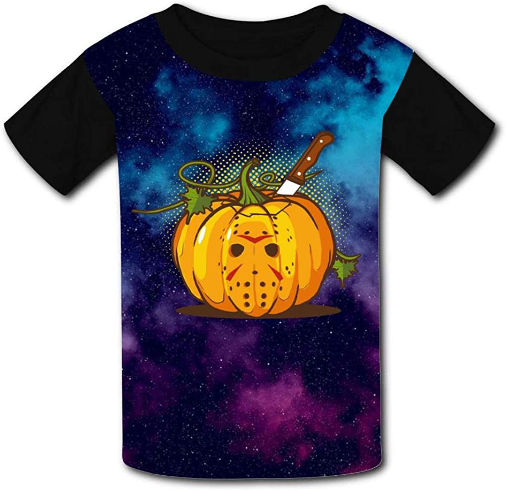 Halloween Horrible Pumpkin Bad Team Youth T-Shirt