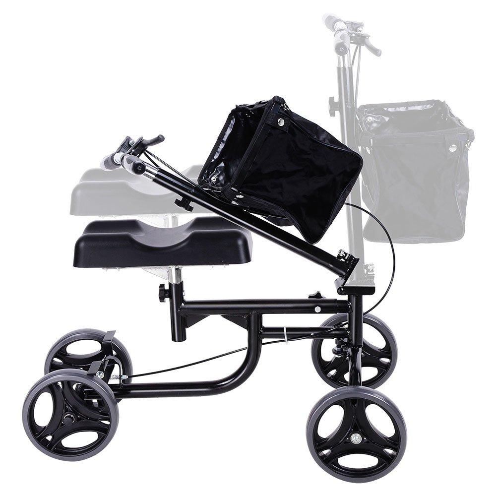 ZeHuoGe Steerable Knee Walker Scooter Foldable