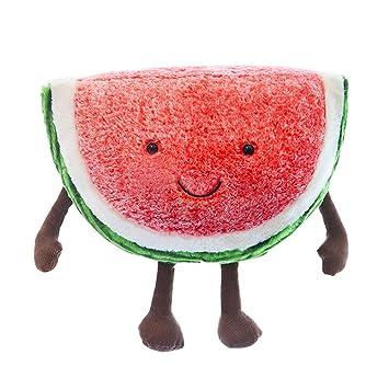 Amazon.com: 15.7 in de peluche juguetes frutas Serie sandía ...