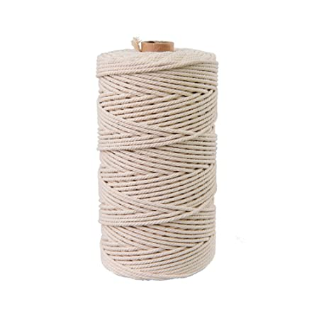 ZAMAC Cuerda de algodón puro hecha a mano para decoración del ...