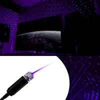 Zabolight Starlight USB Laser Light - Game Rooms, Night Light Ambiance, Car, Bedroom, Bright Galaxy Roof Lights…