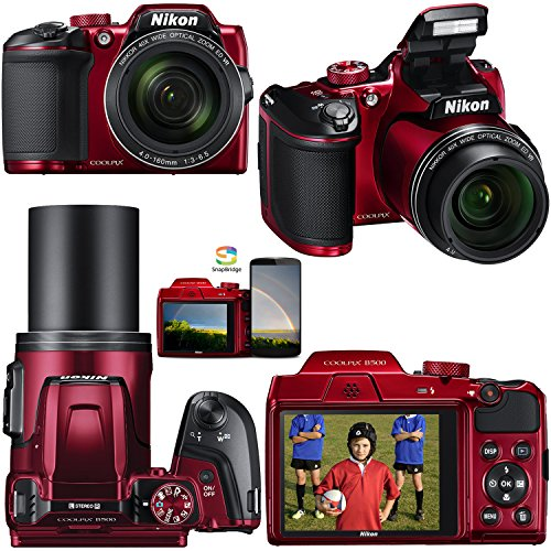 nikon coolpix b500 red nikon coolpix b500 16mp cmos wi fi nfc digital 280