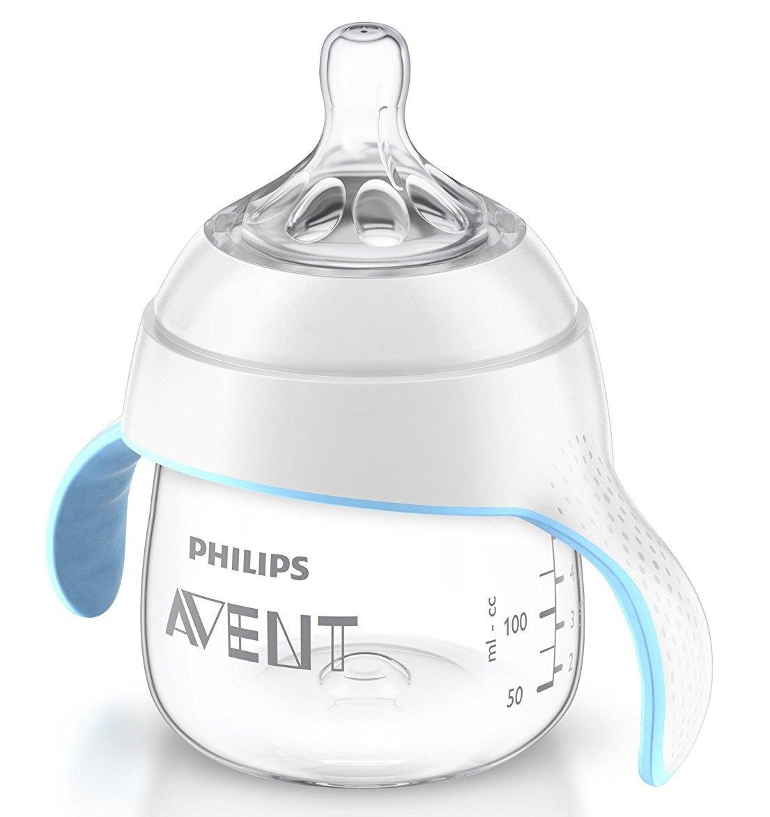 Philips Avent Naturnah Trinklernbecher SCF251/00, ab 4.Monat, 150ml