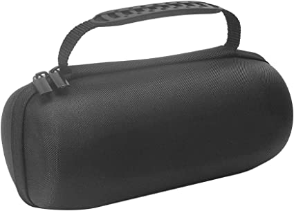 Case Compatible for JBL Pulse 4 Waterproof Portable Bluetooth Speaker with Light Show,Carrying Travel Storage Box-Black