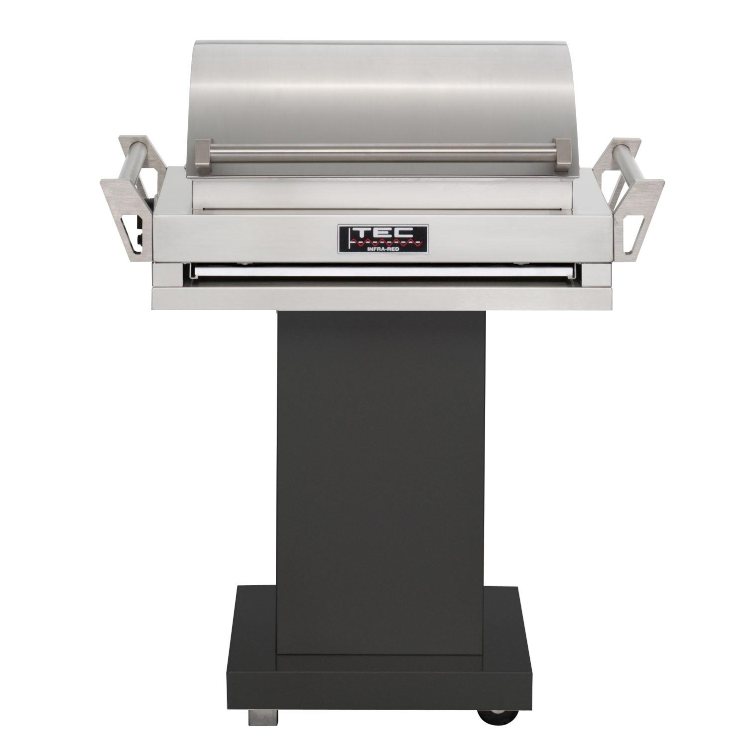 by smokers freestanding bbq barbeques pedestal closed heat galore grill gas shop grills delta brand b