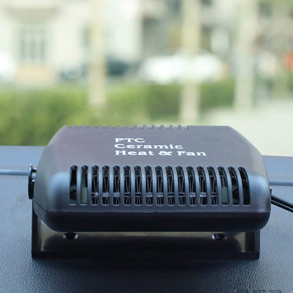 150W Elektrische autoheizung zigarettenanz/ünder Fahrzeug Defogger Defroster mit 180 /° drehbarer Basis Lesgos 12v Auto Heizl/üfter 30s schnelle Heizung Auto Keramik Heizung L/üfter