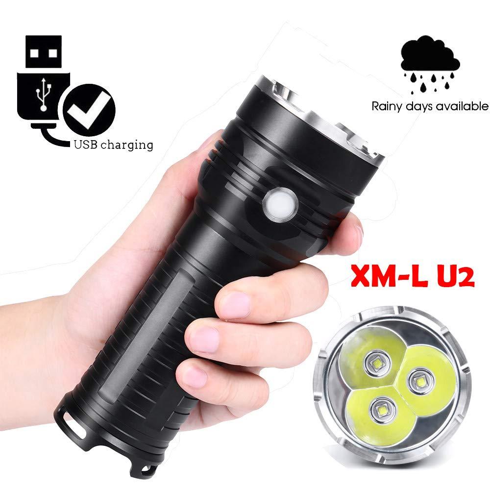 XML-U2 Wasserdichte Taschenlampe Outdoor LED Super Helle 18650 Taschenlampe