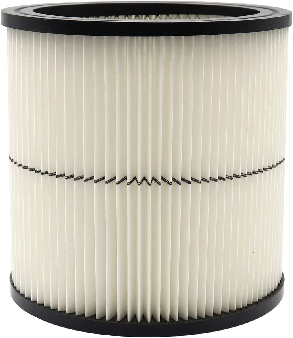 Craftsman 17884 Vacuum Filter For Shop Vac Replacement Part, Fit Select 6 Gallon & Large Vacs, 1 Pack