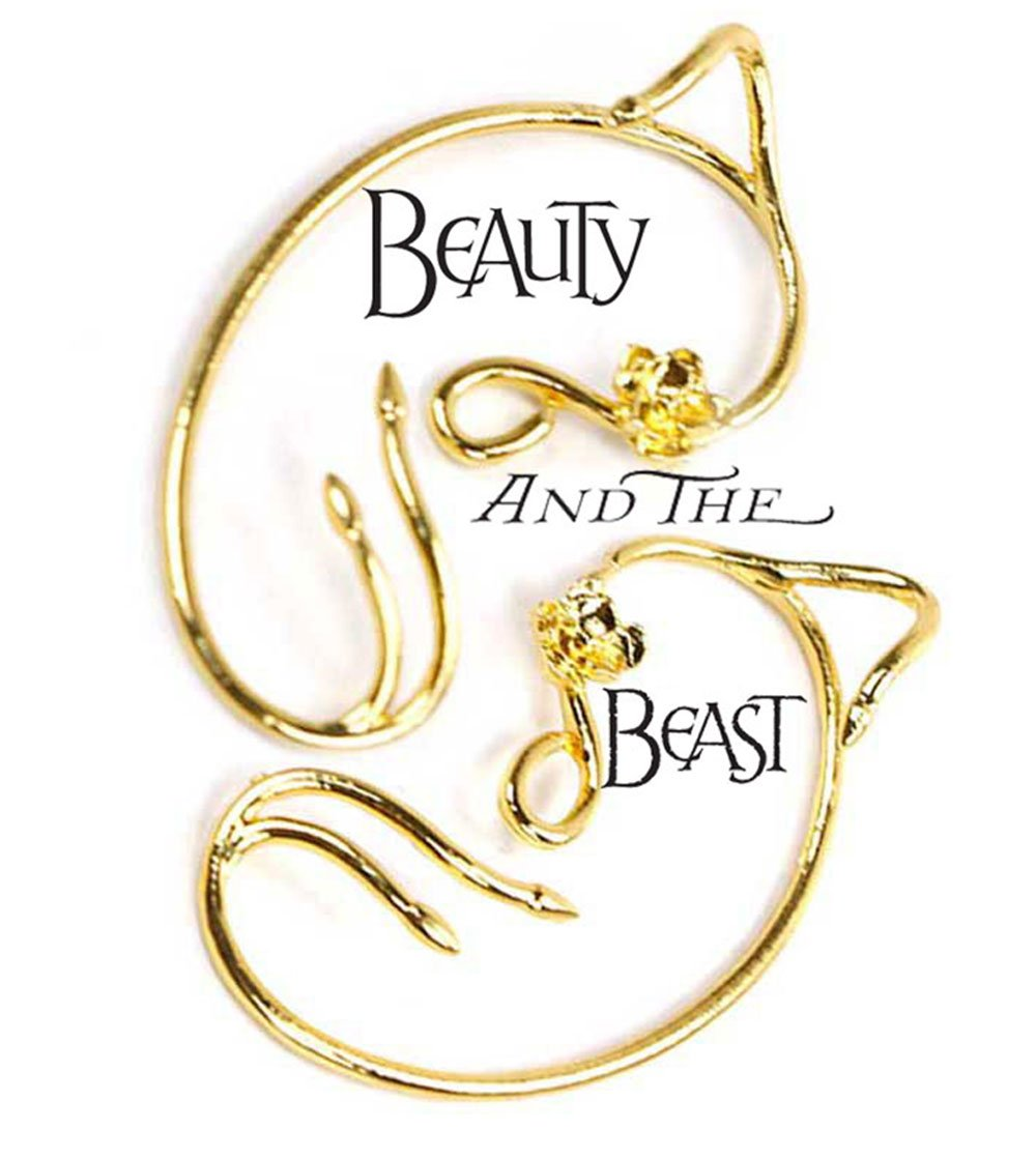 Belle Ear Cuff Beauty and the Beast Costume Cosplay Collection for Girl