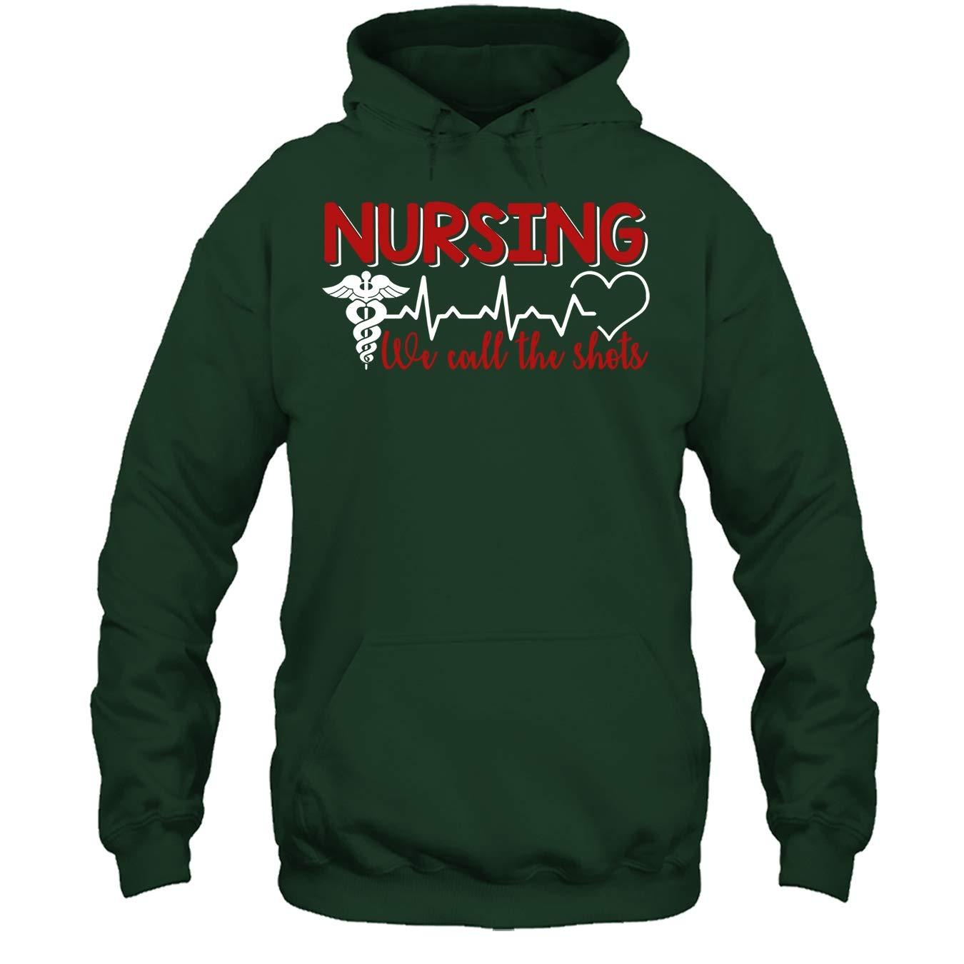 Nurser Tshirt Design Nursing We Call The Shots T Shirt