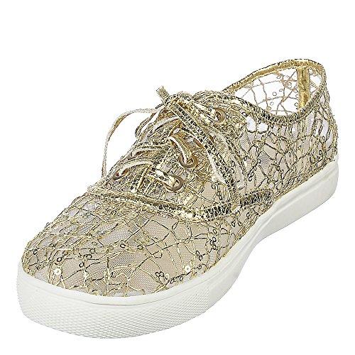 Shiekh Isaac-1 Casual Sneaker Gold