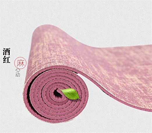 Antideslizante Almohadilla de Estera de Yoga de Yute Natural ...