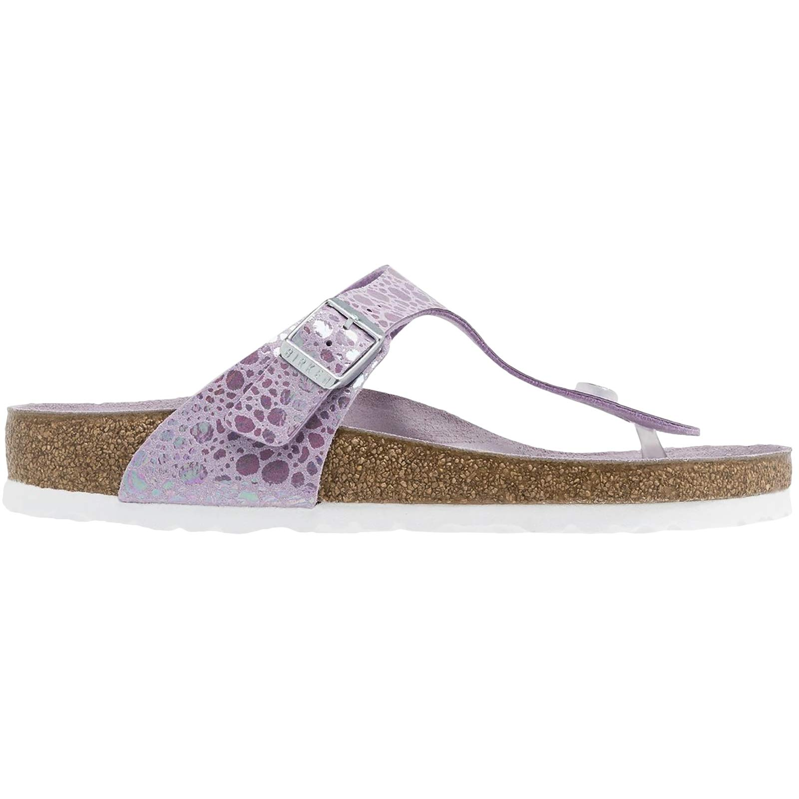 9e80279dac8c Galleon - Birkenstock Unisex Gizeh Birko-Flor Lilac Sandals 7 W   5 M US