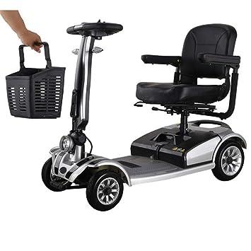 Amazon.com: Wenore - Silla de ruedas eléctrica de cuatro ...