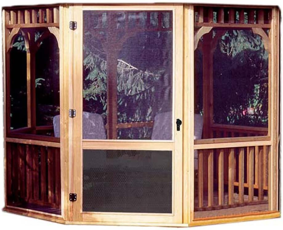 Handy Home Products San Marino Screen Kit for 10-Foot Gazebo Screens Door Only