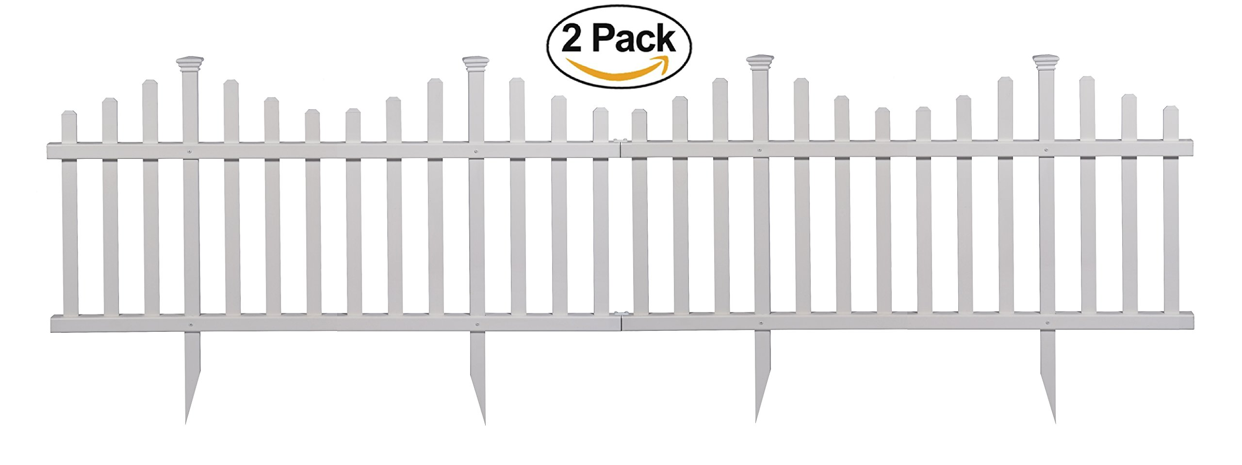 Best Rated In Decorative Fences Helpful Customer Reviews Fence Gate For Transitional Putting Up Electric Zippity Outdoor Products Zp19001 Madison Vinyl Picket White 30 X 56