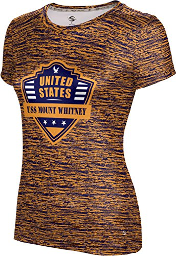 Price comparison product image ProSphere Girls' USS Mount Whitney Military Brushed Tech Tee (Small)