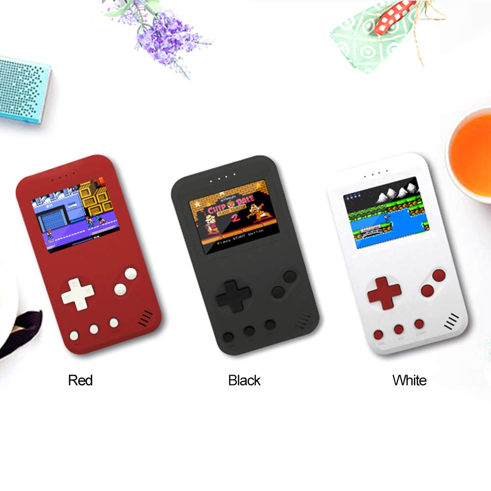 Leslaur JP01 Handheld Game Console Retro Gaming Machine Built-in 299 Classic Games AV Out with 2.5inch Screen Display by Leslaur (Image #2)