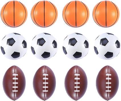 Toyvian Mini Pelotas de Juguete Baloncesto Fútbol Fútbol Fútbol ...
