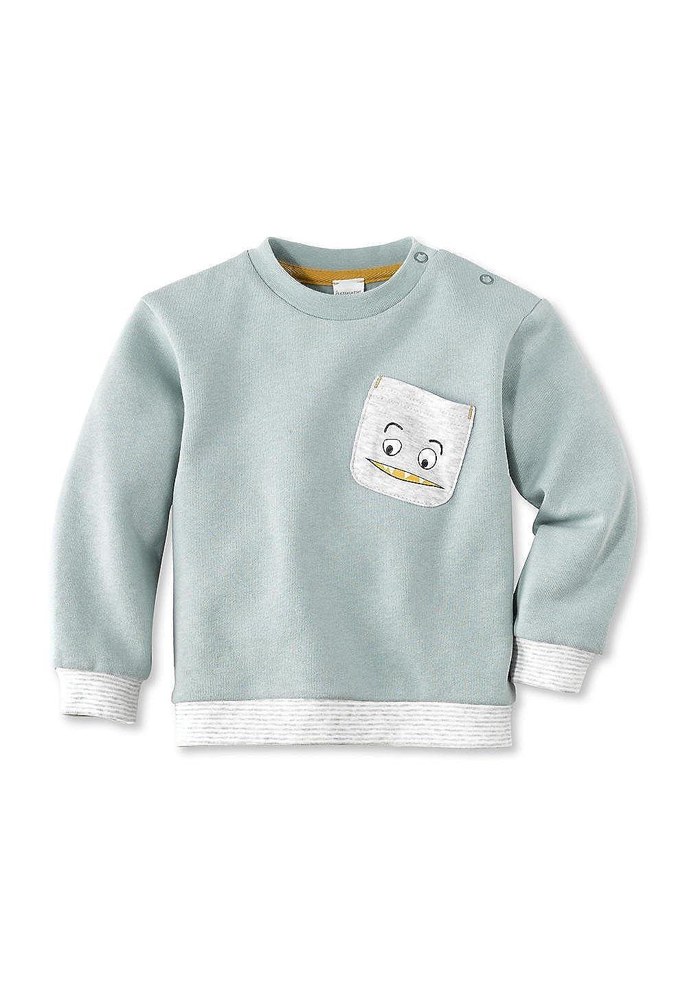 hessnatur Baby Mädchen und Jungen Unisex Sweatshirt aus Reiner Bio-Baumwolle