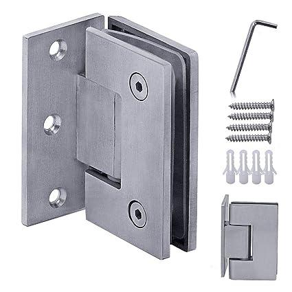 Accessori Per Box Doccia In Vetro.1x Porte Di Vetro Cerniera 90 Cardine Box Doccia Porta Bagno