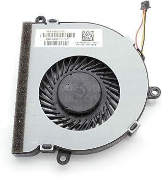 3CTOP Ventilador de refrigeración de CPU para portátil HP 15 ...