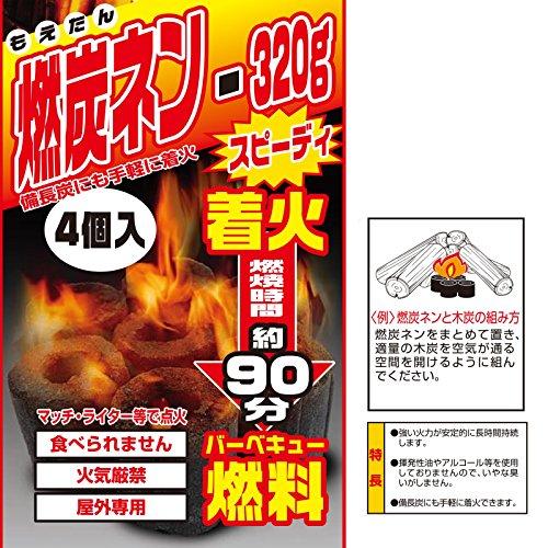 """Onoe Works (ONOE) barbecue fuel """"R'Y nen 320g CK-320 by Onoe Works (ONOE)"""