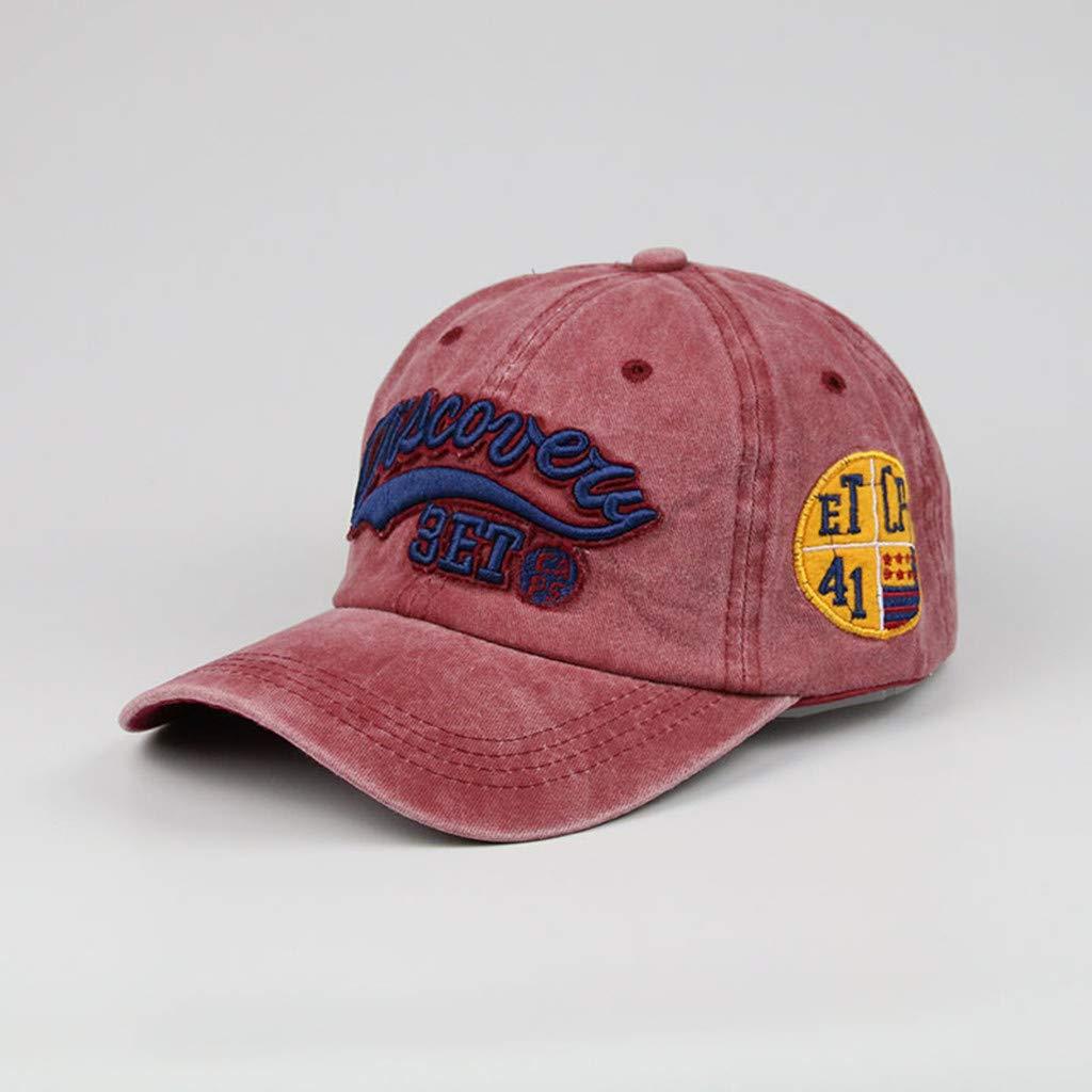 Amazon.com: Vielgluck - Gorra de béisbol unisex ajustable ...