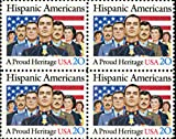 Honoring Hispanic Americans (Block of 4 Postage Stamps #2103)