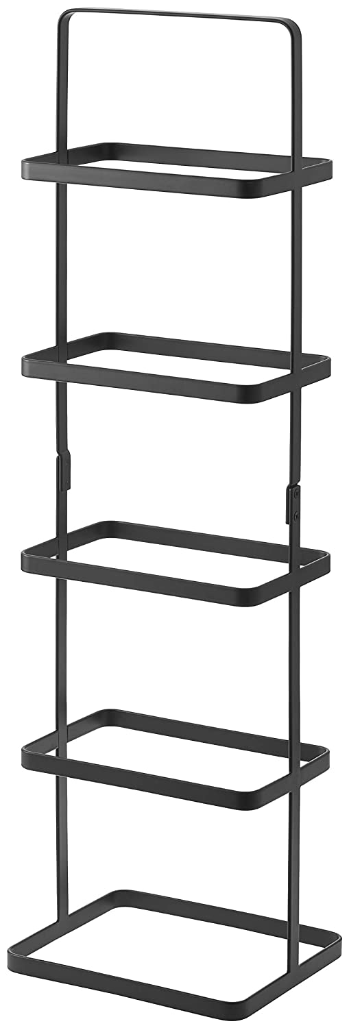YAMAZAKI home 2479 Tower Shoe Rack, Tall, Black