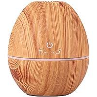 Difusor aromaterapia,200ML Humidificador Ultrasónico,Difusor aromaterapia Purificador de aire con LED de 6 colores para Casa, Oficina, Estudio, Sala de Yoga, Gimnasio, etc