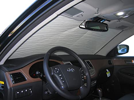 The Original Heatshield, Hyundai Genesis Sedan 2009 2014, Silver Series  Sunshade