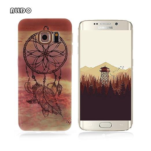 5 opinioni per AllDo Custodia in Silicone per Samsung Galaxy S6 Edge Plus Cover Gomma TPU