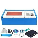 Ridgeyard 40W CO2 USB Port Laser Engraving Cutter Cutting Machine Engraver DIY Crafts with Water Pump