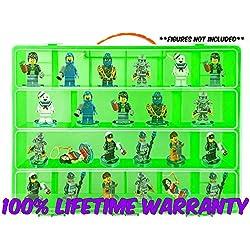 My Ninja Box Carrying Case for LEGO Ninjago Toys, Large - Green