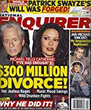 Michael Douglas & Catherine Zeta-Jones * Jan-Michael Vincent * Patrick Swayzer * Jaylen Fryberg * November 10, 2014 National Enquirer Magazine