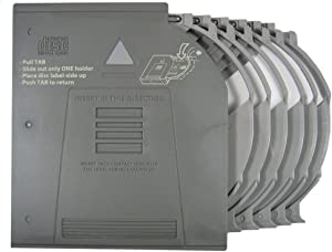 Genuine LAND ROVER Clarion CD Changer Magazine Holder Cartridge for 6 Discs Compatible with LAND ROVER Range Rover L322 Full Size Model 2006-2012 Part LR025951