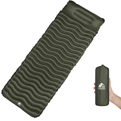 Unigear Ultraligero Inflable Sleeping Pad, Compacto Aire Camping ...