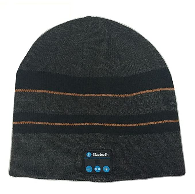 96fd53c8 Image Unavailable. Image not available for. Color: iSuperb Cool Bluetooth  Wireless Music Beanie ...