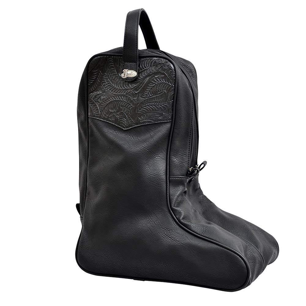 Justin Boots Unisex-Adult Boot Bag Black