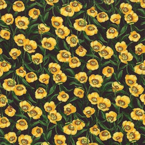 Wildflowers VI - Yellow - Moda - Sentimental Studios - 32816 15-752106073258 ()