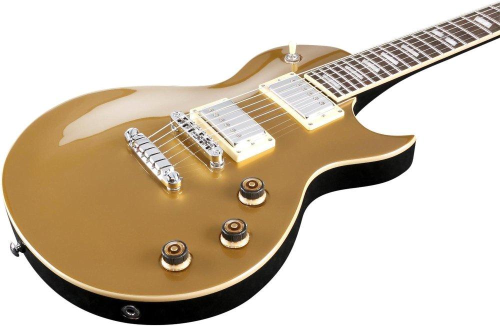 Ibanez ARZ serie arz200 guitarra eléctrica oro: Amazon.es: Instrumentos musicales