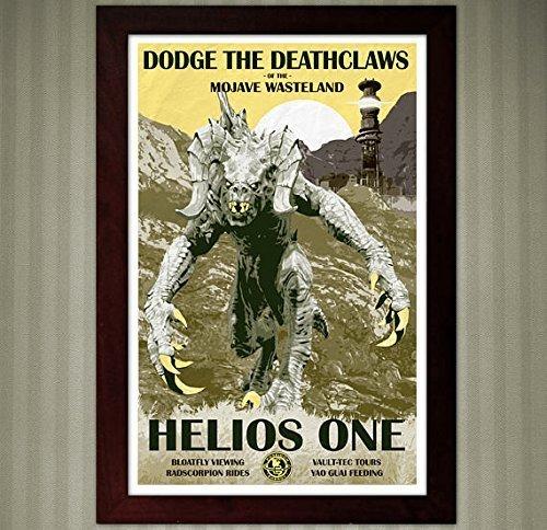 Mojave Wasteland - Fallout Vegas - Vintage Travel Poster - 11x17